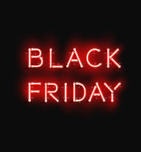 Black Friday Sales in November at our adult store locations!